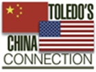 Toledo China Connection Hot Topic button