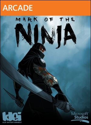 Mark of the Ninja; Grade: 4 stars; Platform: Xbox Live Arcade; Genre: Action; Publisher: Microsoft; ESRB Rating: M for mature.