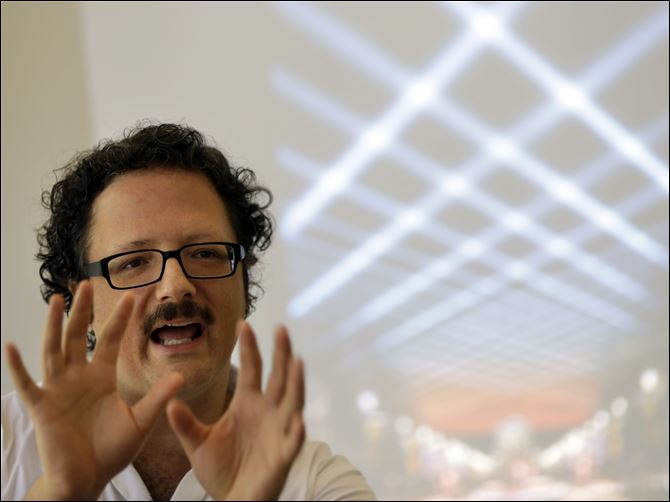 Art in the Air Artist Rafael Lozano-Hemmer discusses his new project titled