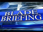 Blade Briefings Hot Topic button