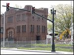 Crews continue their demolition of the old armory and surrounding buildings near downtown Bowling Green. The armory was built in 1910, and some of the first Bowling Green State Normal College students took classes there.