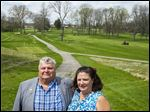 Stanley and Kathryn Chlebowski, new owners of the Brandywine Golf Course and Country Club, are making updates to the property in hopes to open it May 4.
