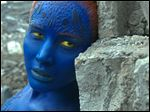 Mystique, portrayed by Jennifer Lawrence, appears in 'X-Men: Apocalypse.'