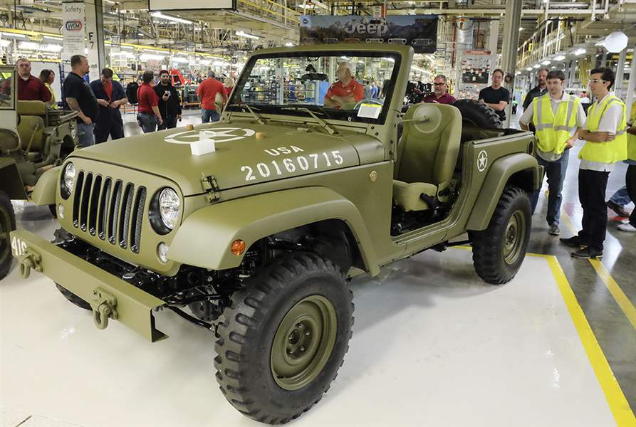 Wonderful Almost Every Model Year Set For Toledo Jeep Fest  The Blade