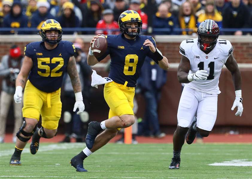 Former Collegiate standout Wilton Speight announces he will transfer from MI